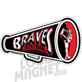 Bellmore Braves Megaphone Cheerleaders Jpg Custom Car