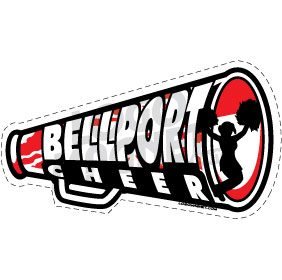 BELLPORT-CHEER-MEGAPHONE