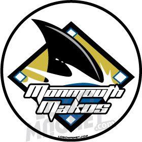 BWLSHARKFINBASEBALLjpg Custom Car Magnet Logo Magnet - Custom car magnets baseball