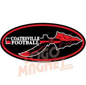 COATESVILLEREDRAIDERSINDIANjpg Custom Car Magnet Logo Magnet - Custom football car magnets