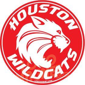 Houston Wildcats Jpg Custom Car Magnet Logo Magnet