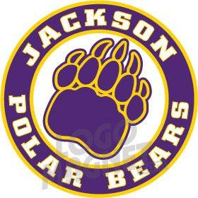 JACKSON-POLAR-BEARS.jpg Custom Car Magnet
