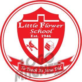 Little Flower Catholic School Jpg Custom Car Magnet Logo