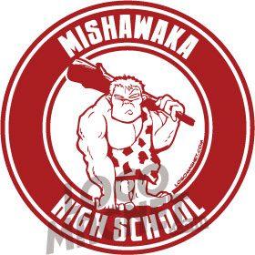 High Point Lacrosse >> MISHAWAKA-HIGH-SCHOOL.jpg Custom Car Magnet - Logo Magnet