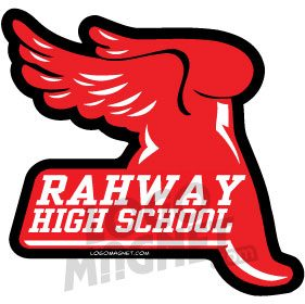 Rahway Track Wings Shoe Jpg Custom Car Magnet Logo Magnet