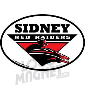 SIDNEY-FEDERATION-WRESTLING-CLUB-RED-RAIDERS-LOGO-HORSE