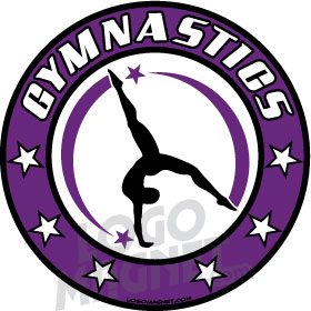 Ymca Gymnastics Logo Jpg Custom Car Magnet Logo Magnet