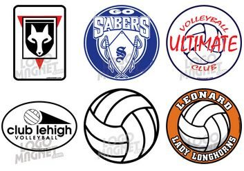 Custom Volleyball Car Magnets LogoMagnetcom - Custom volleyball car magnets